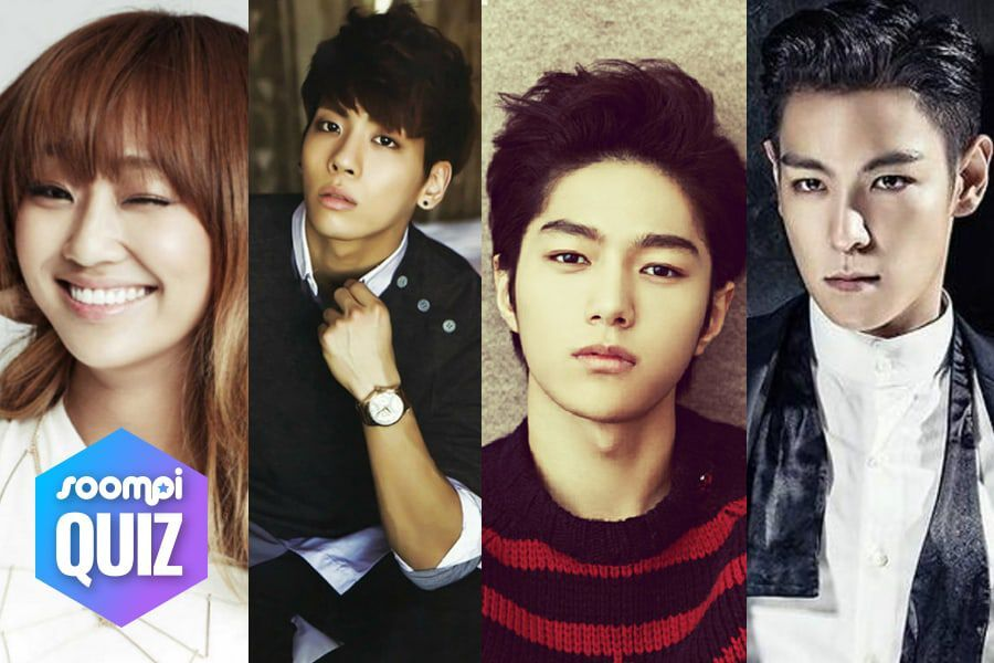 Quiz Who Is Your K Pop Personality Twin Soompi