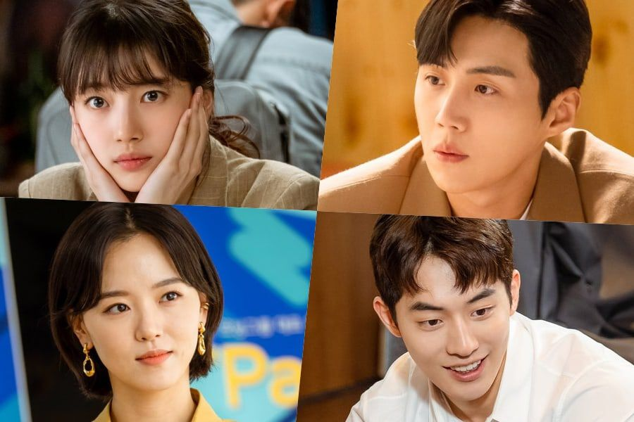 "Suzy, Nam Joo Hyuk, Kim Seon Ho, And Kang Han Na Show Their Hardworking And Cute Sides In ""Start-Up"""