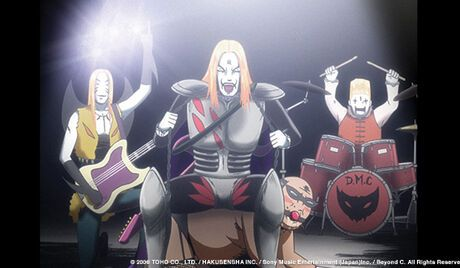Detroit Metal CIty Animated Version