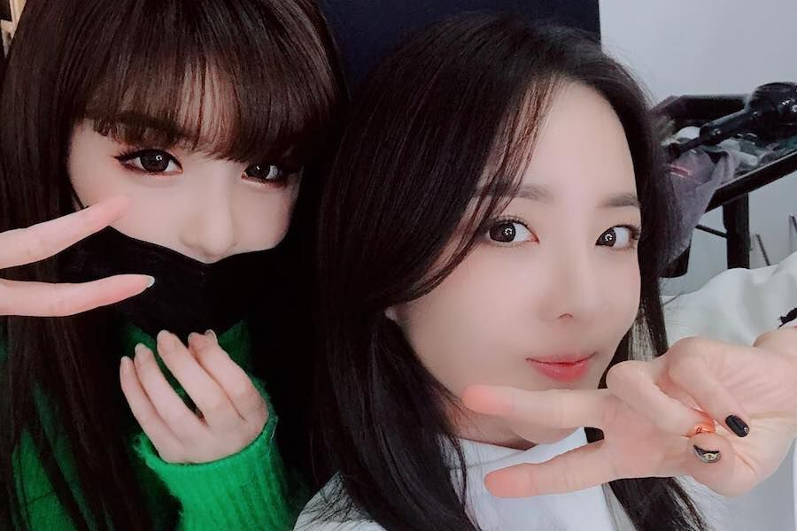 Park Bom And Sandara Parks Reunion Is Giving Fans All The Feels