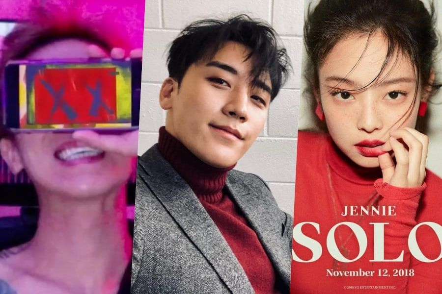 Seungri Offers To Help Song Mino And Jennie On Their Solos, Says He's Very Sad