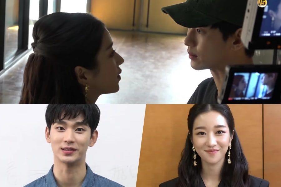 Watch Kim Soo Hyun And Seo Ye Ji Share Their First Day On The Set Of Upcoming Tvn Drama Soompi