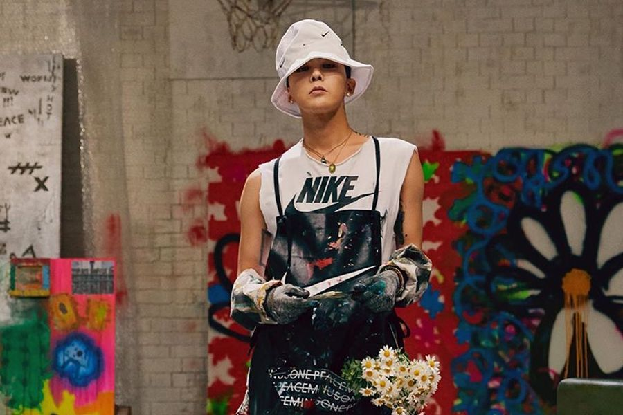 G-Dragon And Nike's Collab Shoes Resell For 10 Million Won