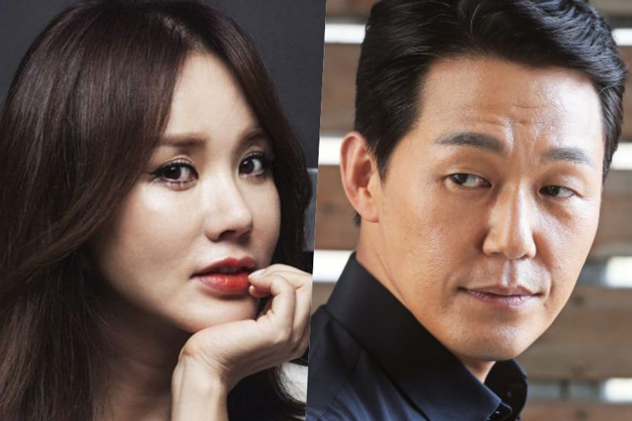 Uhm Jung Hwa Confirmed To Star In Comedy Film With Park Sung Woong