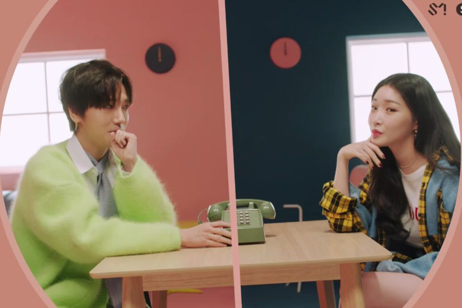 "Watch: Super Junior's Yesung And Chungha Ask ""Whatcha Doin"" In Sweet Collaboration MV"