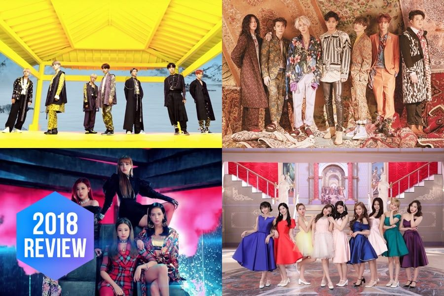 8 Popular K-Pop Concepts From 2018 That Are Unforgettable