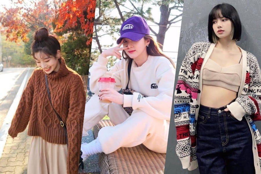 Same Style, Different Takes: 22 K-Pop Stars Interpret Fall/Winter Trends