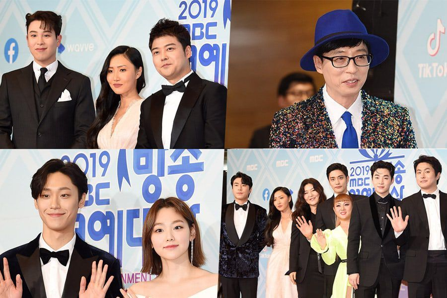 Stars Light Up The Red Carpet At The 2019 MBC Entertainment Awards