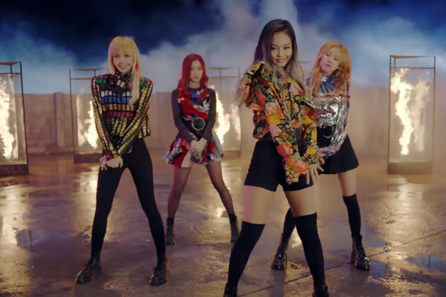 "BLACKPINK's ""Playing With Fire"" Becomes Their 6th MV To Reach 600 Million Views"