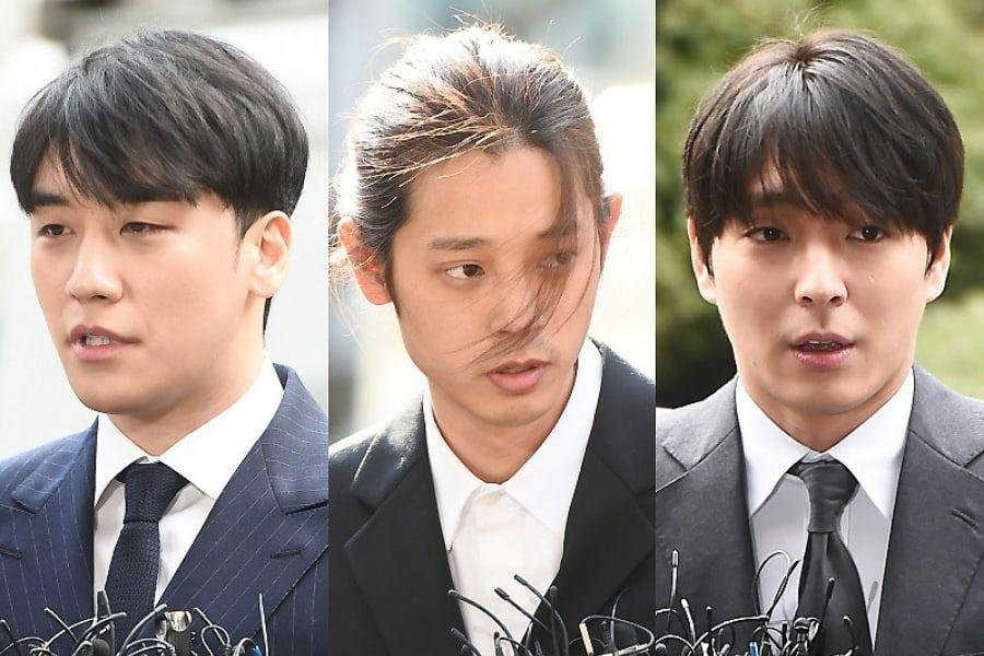 Police Book Seungri, Jung Joon Young, And Choi Jong Hoon On Additional Charges Of Sharing Illegally Taken Videos And Photos