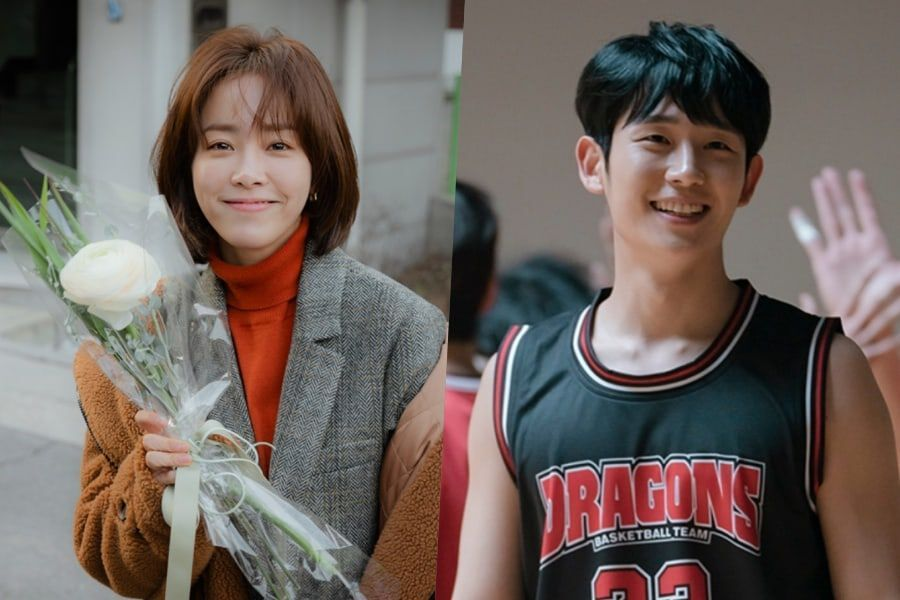 "Han Ji Min And Jung Hae In's Smiles And Dedication Bring Warmth To Set Of ""One Spring Night"""