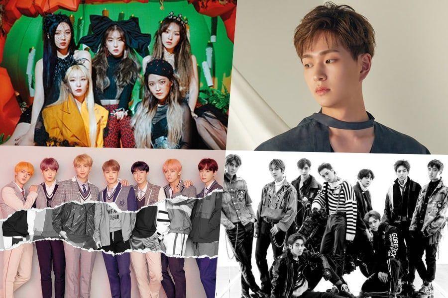 Los nuevos lanzamientos de Red Velvet y Onew hacen fuertes debuts en la lista de álbumes mundiales de Billboard + BTS, EXO, y más se ubican en altas posiciones