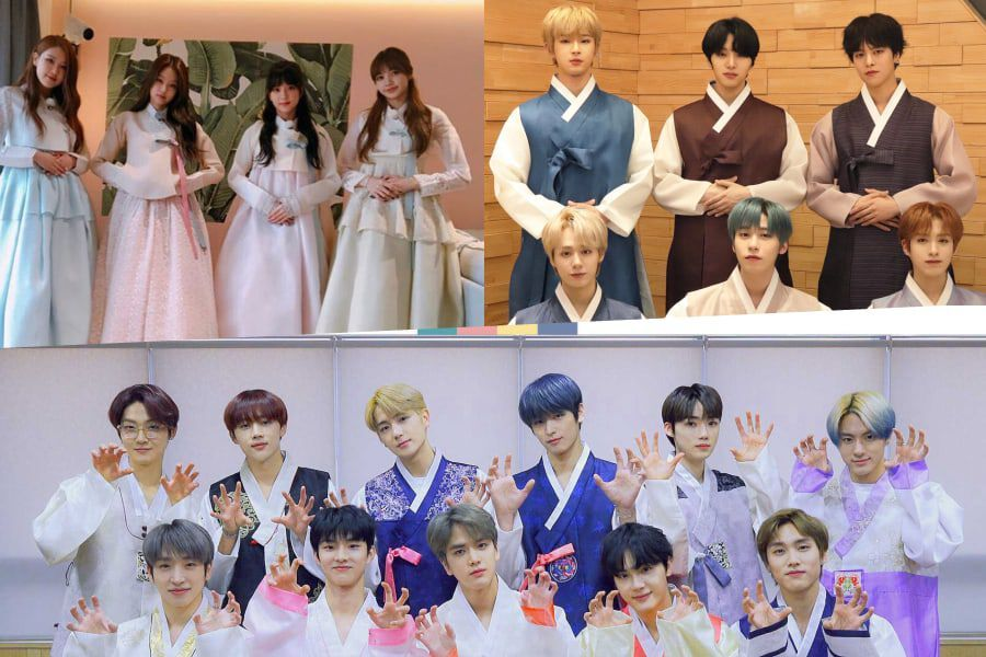 Korean Celebrities Ring In The Lunar New Year With Their 2020 Greetings