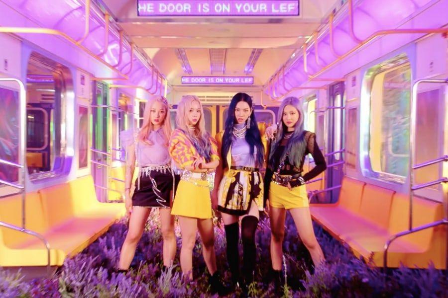 "Update: SM's New Girl Group aespa Drops MV Teaser For Debut Single ""Black Mamba"""