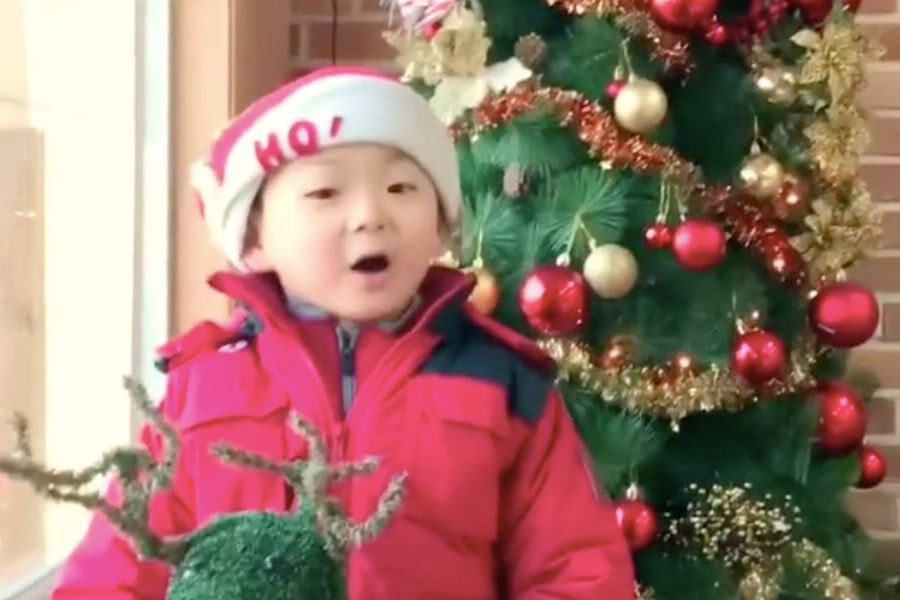 Christmas Carol Singers Decorations.Watch Song Il Gook Shares Adorable Video Of Minguk Singing
