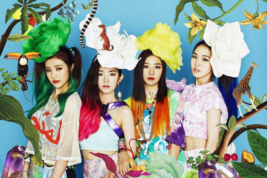"Red Velvet's ""Happiness"" Becomes Their 9th MV To Reach 100 Million Views"