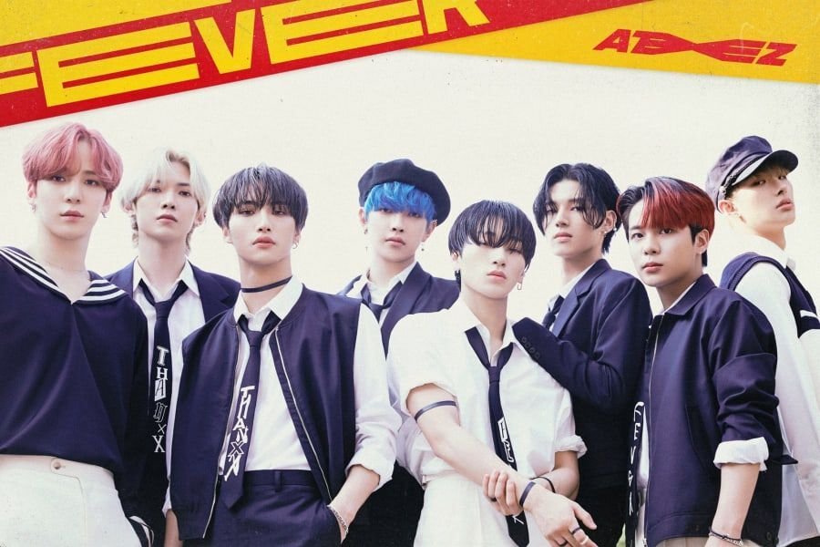 "ATEEZ Nearly Quadruples Their Own 1st-Week Sales Record With ""Zero : Fever  Part.1"" 