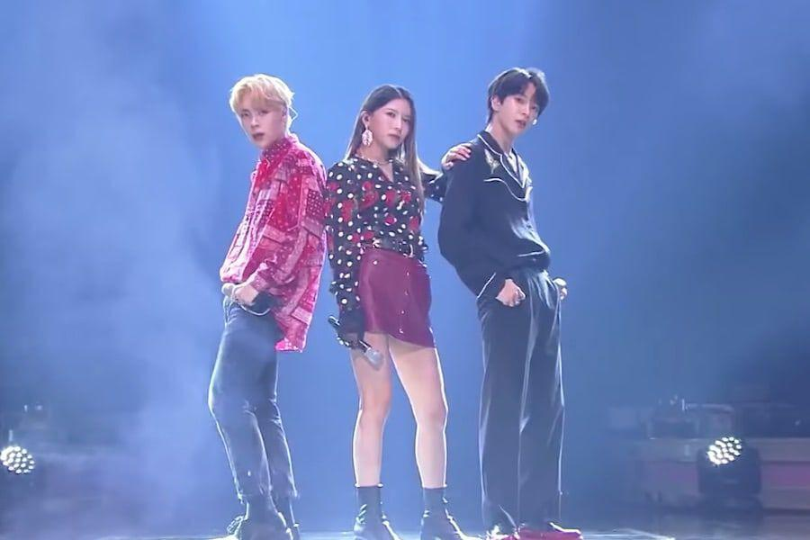 "Watch: gugudan's Nayoung Teams Up With VERIVERY's Dongheon And Yeonho On ""Immortal Songs"""