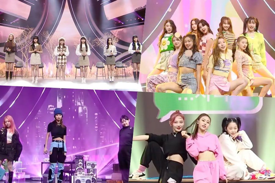 """Watch: """"Girls Planet 999"""" Contestants Cover BTOB, BLACKPINK, And More In 2nd Mission"""