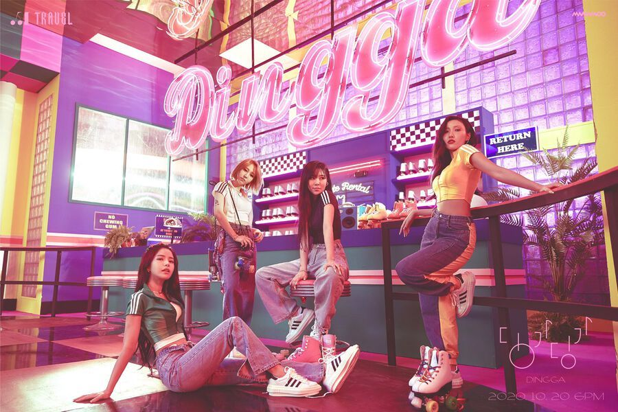 "Update: MAMAMOO Gives 1st Look At Pre-Release Single ""Dingga"" Through Teasers"