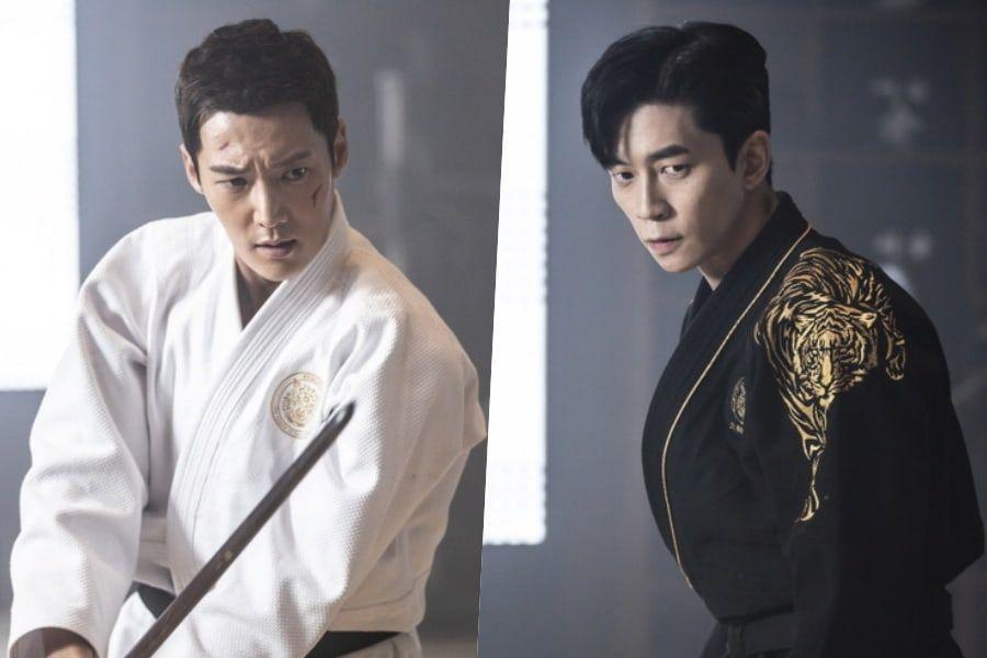 "Choi Jin Hyuk And Shin Sung Rok Test Their Swordsmanship In ""The Last Empress"""