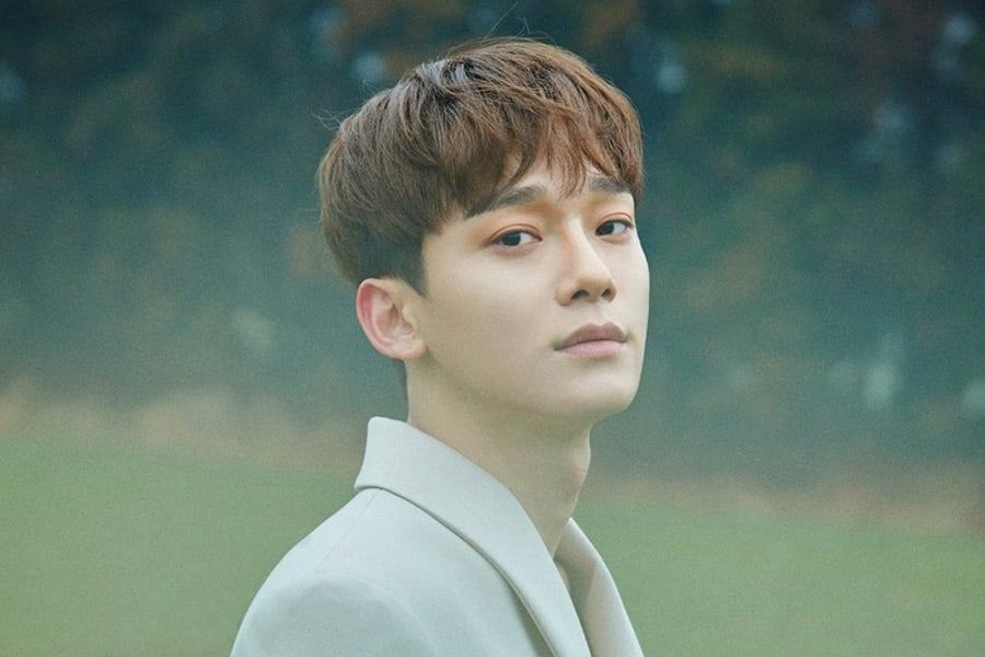 """EXO Cheers On Chen's Solo Debut With """"April, And A Flower"""