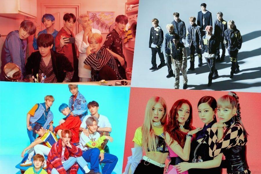 BTS, NCT 127, ATEEZ, BLACKPINK y MONSTA X se ubican en altas posiciones en la lista de álbumes mundiales de Billboard
