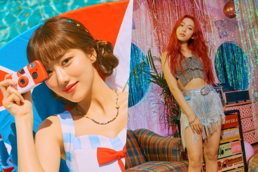 Update: APRIL's Naeun And Yena Enjoy Fun Summer Days In Comeback Teasers