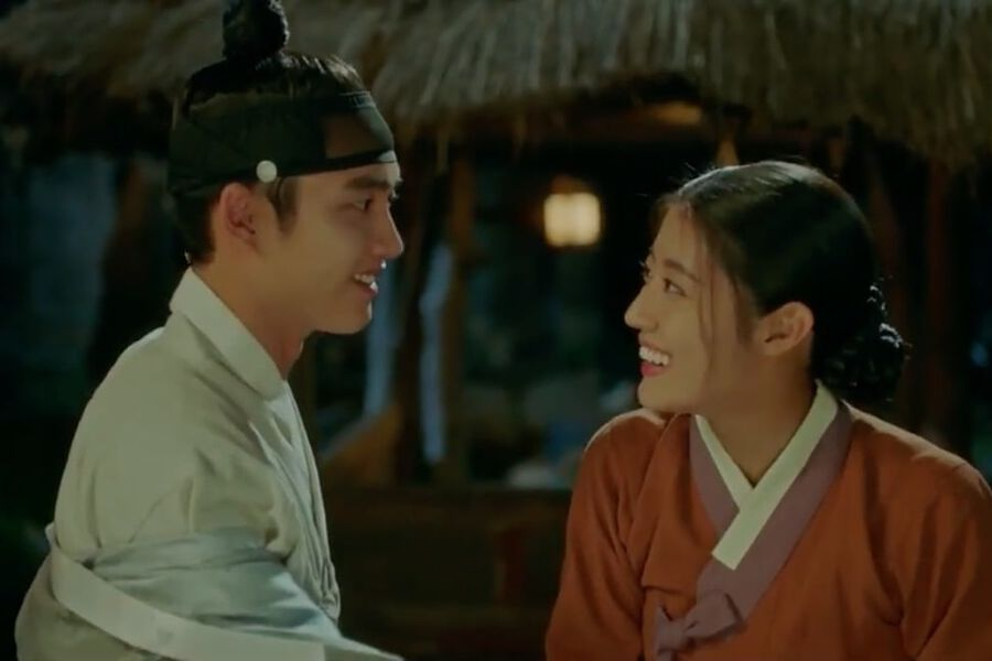 "Watch: EXO's D.O. Can't Take His Eyes Off Nam Ji Hyun In Romantic Teaser For ""100 Days My Prince"""