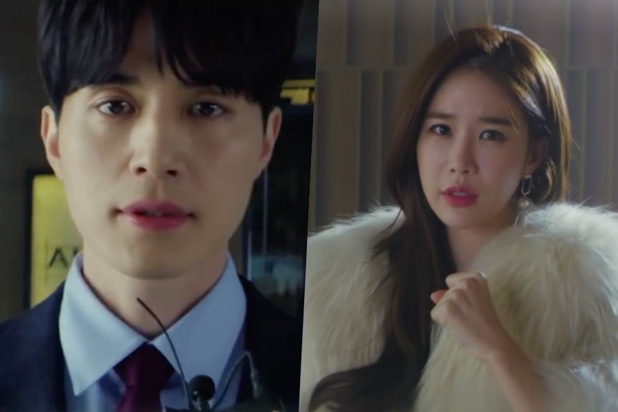 """Watch: Lee Dong Wook And Yoo In Na Go Head-To-Head In An Epic Legal Battle In """"Touch Your Heart"""" Teasers"""