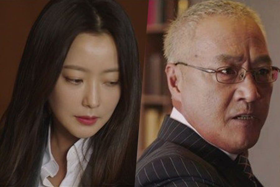 """Kim Hee Sun Struggles Against A Furious Lee Kyung Young In """"Room No. 9"""""""