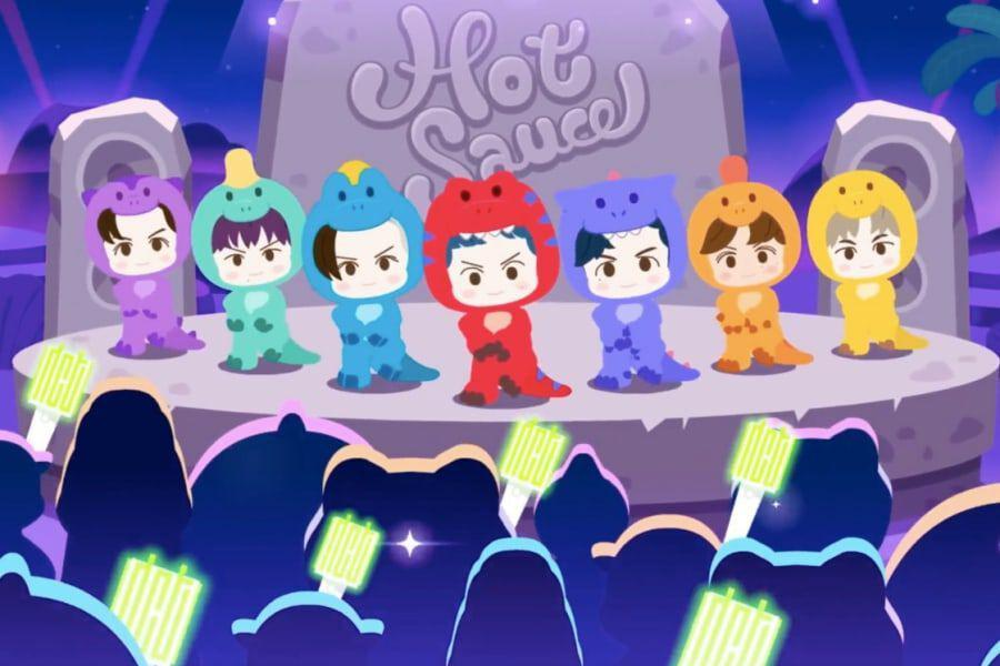 """Watch: NCT DREAM Teams Up With """"Baby Shark"""" Creator Pinkfong For Animated """"Hot Sauce"""" MVs, Including English Version"""